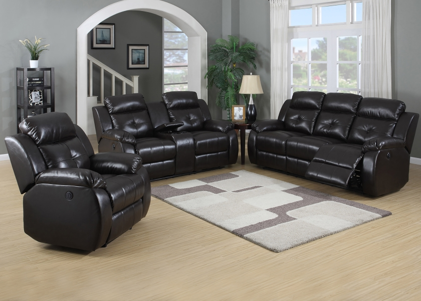 Tremendous Ac Troy Manual Brown Bonded Leather Contemporary Manual Bralicious Painted Fabric Chair Ideas Braliciousco